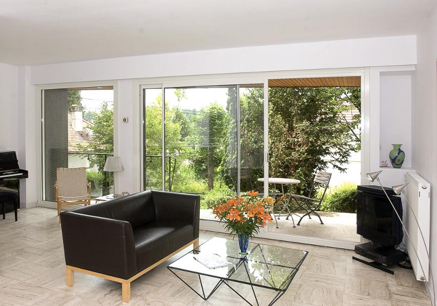 photo  d'illustration pour la fenêtre coulissante mixte pvc Aluminium Ikar FenêtréA