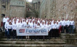 Photo de groupe des expert lors de la 8ème convention des experts-conseil fenêtréA