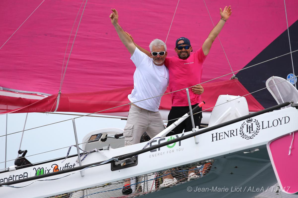 erwan Le Roux et Vincent Riou arrivent à Salvador de Bahia