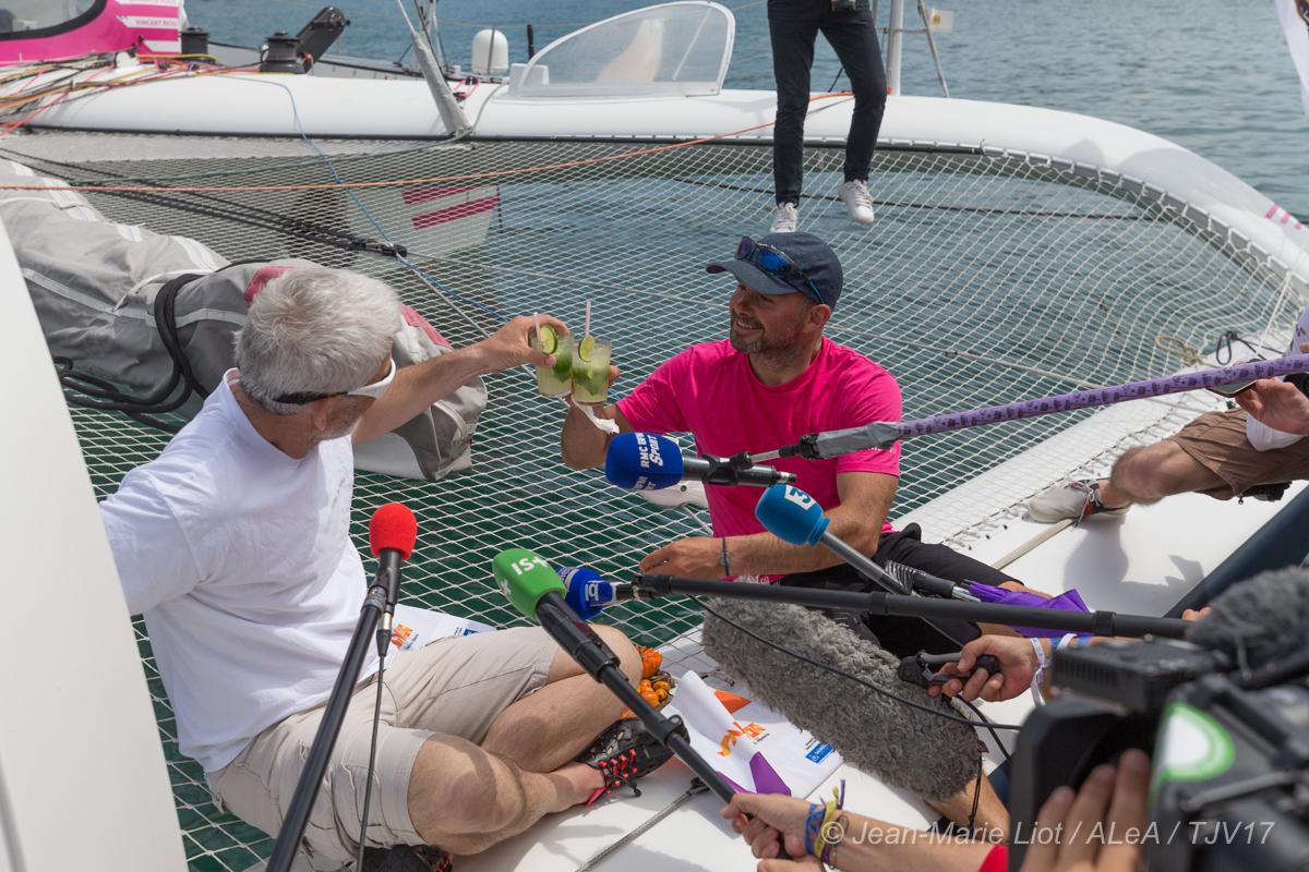 interview d'Erwan et Vincent au port de Salvador de Bahia